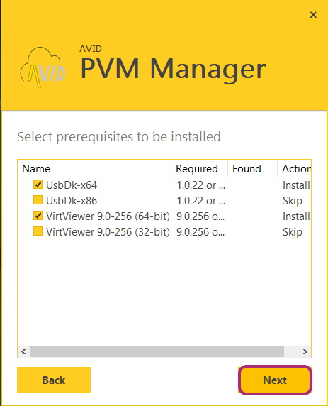 مراحل نصب رابط کاربری ویندوز PVMmanager
